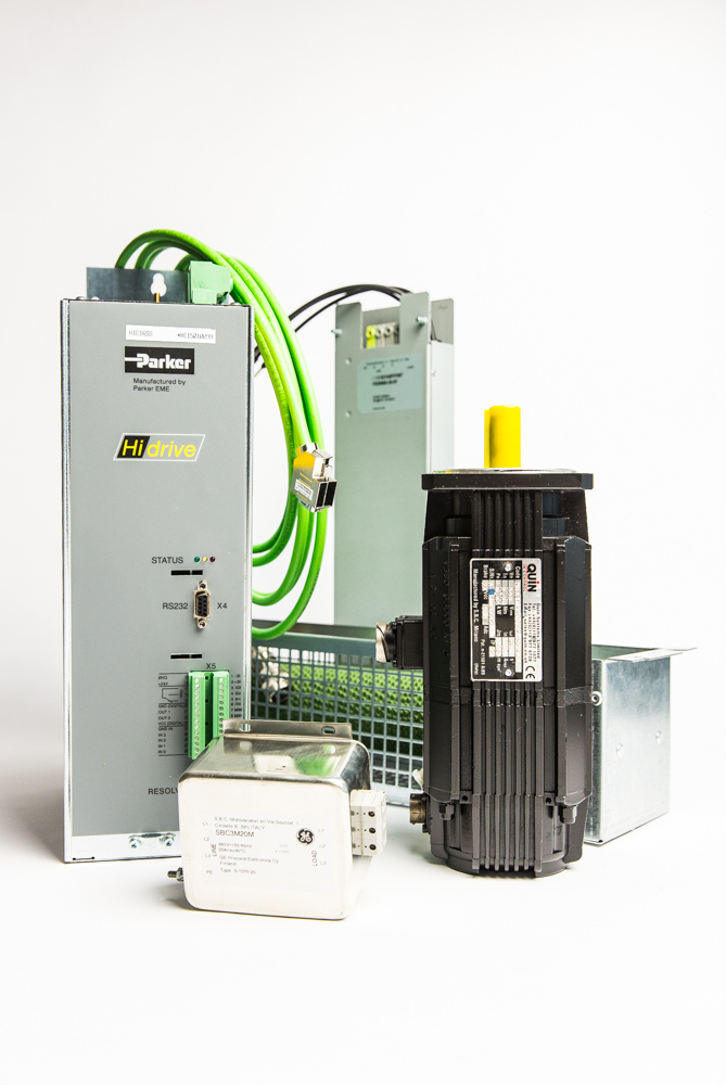 Sbc servo drives quin systems ltd for Servo motors and drives