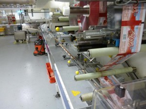 HSM flow wrapper fitted with IRT 1300 servo drives requiring upgrade to extend machine life