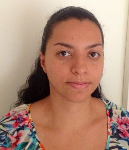 Dr Paula Ruiz-Hincapie whose research involves the use of linear motors to simulate the cardiovascular system.